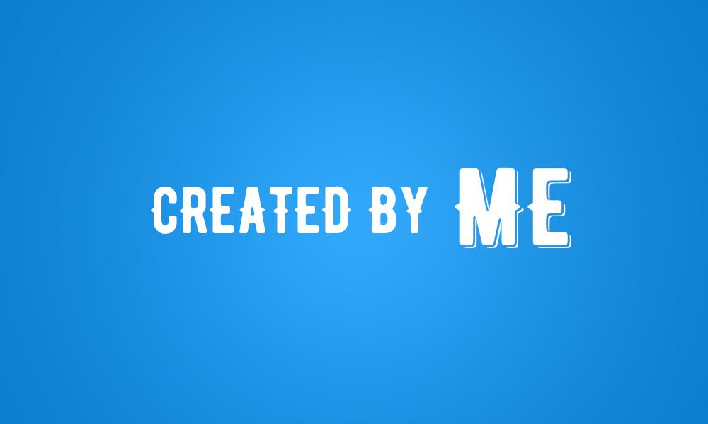created - Podpis autora w stopce na stronie