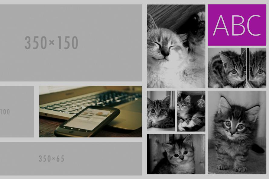 """dummy images 1 - """"Lorem Ipsum"""" w wersji obrazkowej"""