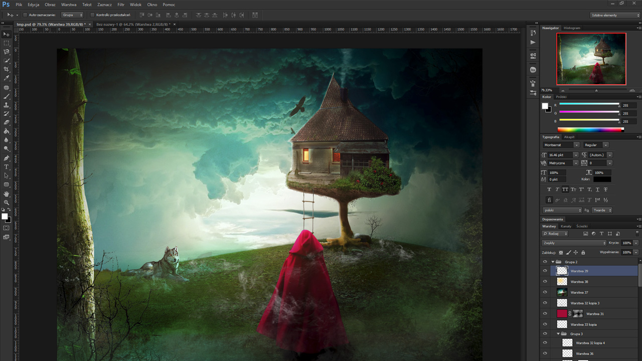 yt - Fotomanipulacja #1 (speed art) - Photoshop