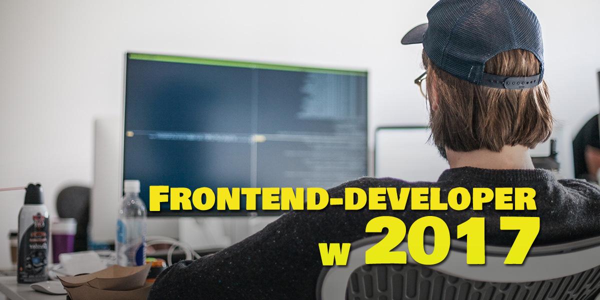 frontedndeve - Droga frontend-developera w 2017r.