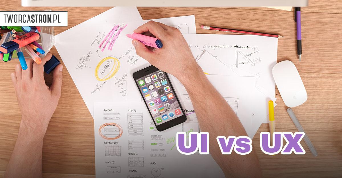 ux vs ui - Różnice między UX a UI