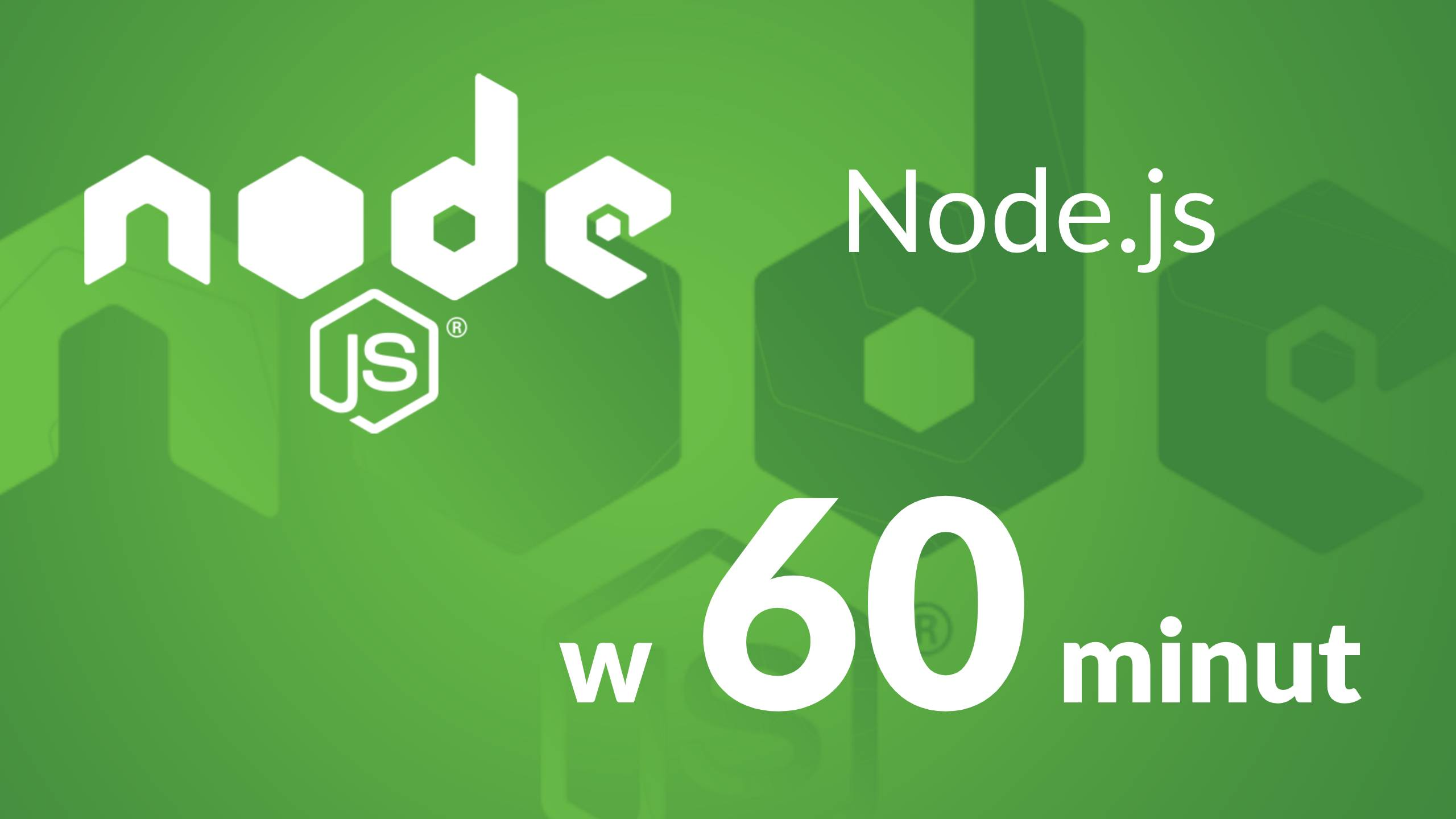 node yt - Node.js - kurs w 60 minut