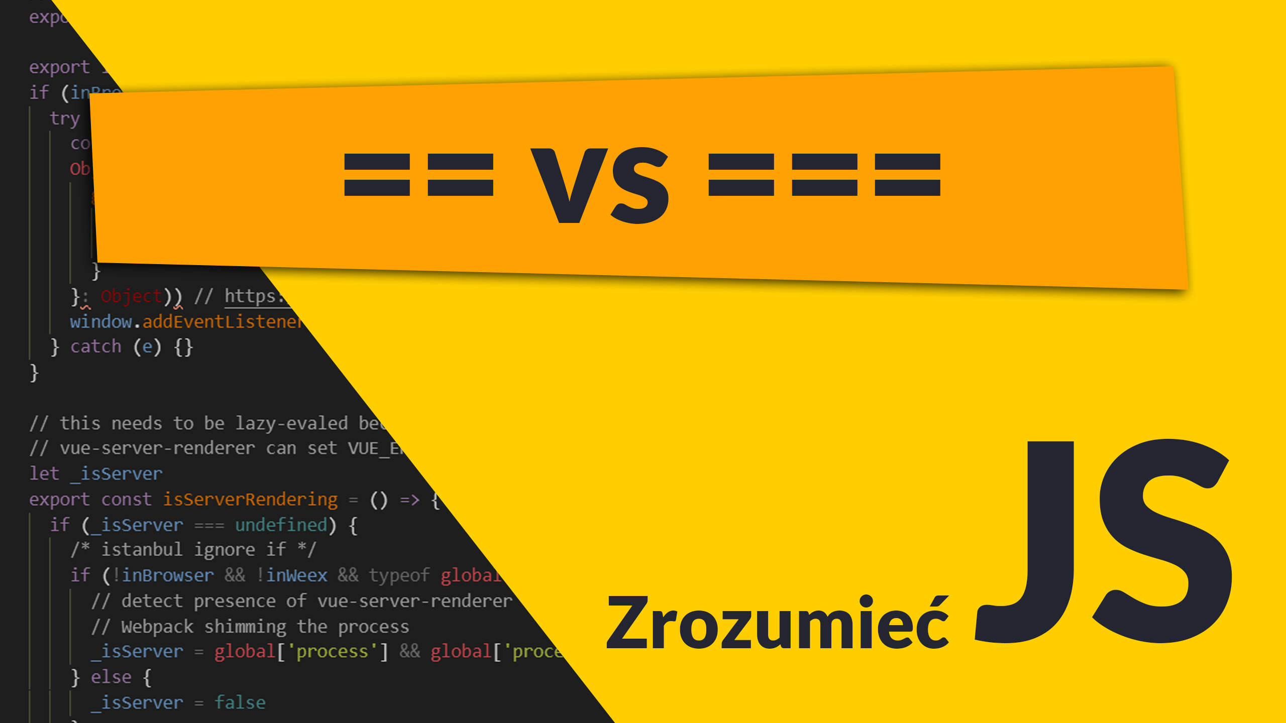 zrozumiec js vs  - == vs ===, czyli o koercji typów (#1 Zrozumieć JavaScript)